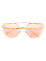Prima Donna Sunglasses (Light Pink Lens)