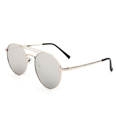 Hollywood Boulevard Sunnies (Silver Reflective)