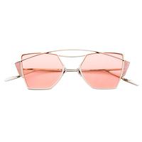 Show Stopper Sunnies (Light Pink Lens)