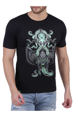 SUPREME NAGA; BLACK (GLOW IN THE DARK), xl