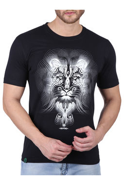 TIGRESS; BLACK (GLOW IN THE DARK), medium