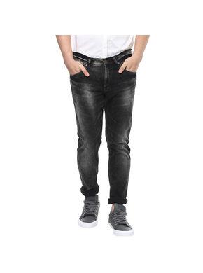 Super Skinny Low Rise Tight Fit Jeans, 38,  black