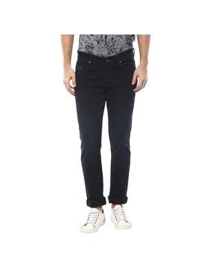 Super Skinny Low Rise Tight Fit Jeans, 34,  dark blue
