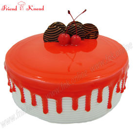 Strawberry Cake, 0.5 kg, select time, egg