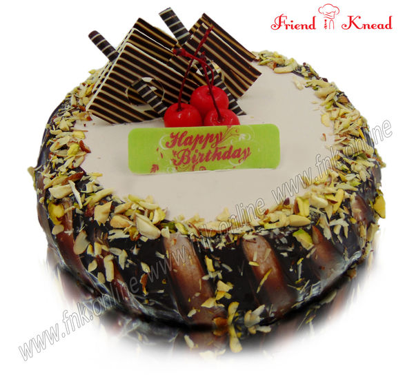 Eggless Choco Nuts Cake Order Online And Door Delivery Coimbatore
