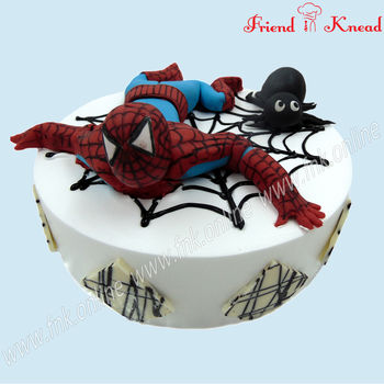 Kids' Special - Spider Man Cake, eggless, select time, 1.5 kg