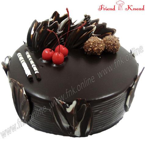 Eggless Choco Ferrero Cake