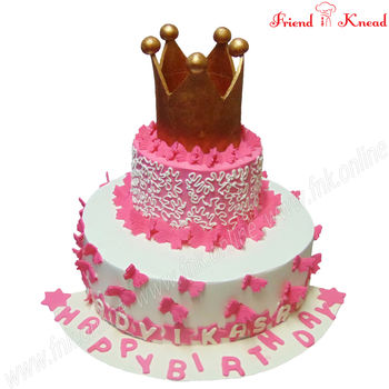 My Little Princess Cake, butterscotch fudge, 12 pm - 1 pm, 3 kg