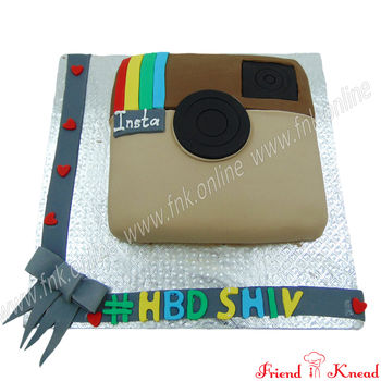 Instagram Cake, eggless, select time, 1.5 kg