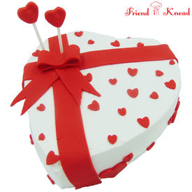 Valentine's Special Cake, select time, egg