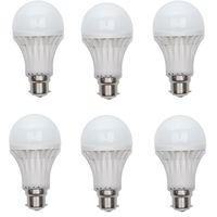 7W LED Bulb 6 Piece COMBO Offer