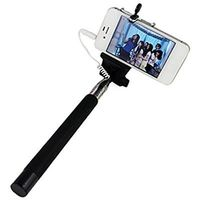 Smile N Click Aux Black Color Selfie Stick