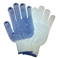 SuperDeals Dotted Hand Gloves