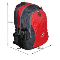 Laptop bag (MR-90-RED-GRY)