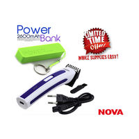 Nova Trimmer with 2600 Mah Power Bank