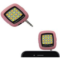 Led Flash Phone Charm in Pink Color
