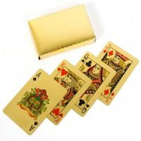 Exclusive Gold Playing Cards