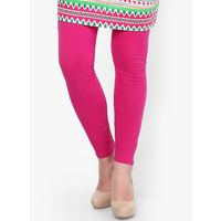 Cotton Mix Lycra leggings BRIGHT PINK