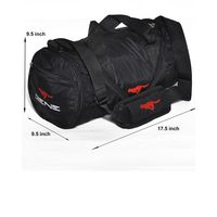 Gym Bag - Foldable-Round shape (MN-0117-BLK)