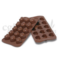 Silicone Heart Shape - 2 - Chocolate Mould