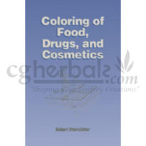 Coloring Of Food, Drugs, And Cosmetics