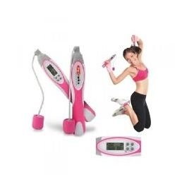Portronics Wireless Skip Cordless Jump Rope Digital Jump Rope For Fitness-Pink