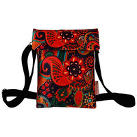 Stylish Designer Sling Bag with multicolor print for Girls/Women, nsb009-7jpg