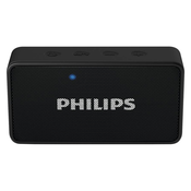 Philips BT64B/94 Portable Bluetooth Mobile/Tablet Speaker,  red