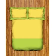 Tangerine Coolers King 3 Pcs Bedsheet Set