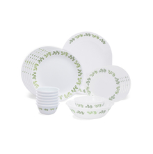 Corelle India Impressions Neo Leaf 21 Pcs Dinner Set