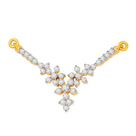 Diamond Mangalsutra - BATS51T