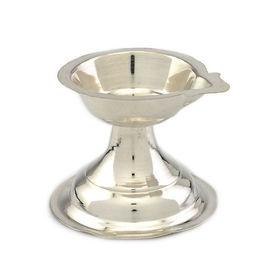 Ekmukhi Silver Diya Lamp-MJD005