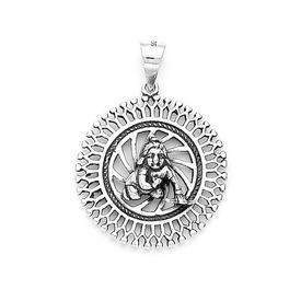 Divine Bal Gopal Silver Pendant-PD090