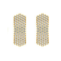 Grace Shine Diamond Earrings-RBL0055, vs-gh, 18 kt
