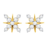 Diamond Earrings - DAPS42ER, si - ijk, 14 kt