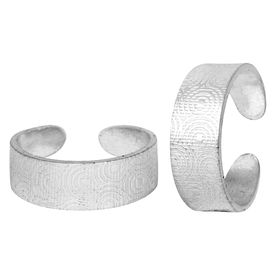 Iconic Silver Toe Ring-TRRD007