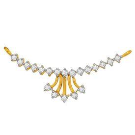 Diamond Mangalsutra - BATS0199T, si - ijk, 14 kt