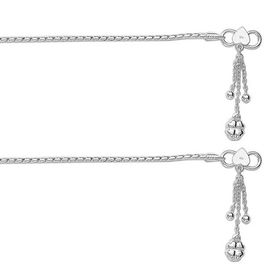 Incredible Cutwork Chain Sterling Silver Anklets-ANK070
