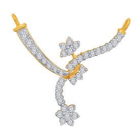 Diamond Mangalsutra - BATS45T