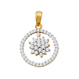 Lovely Round Pendant - AMPS0072P