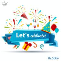 Let's Celebrate Gift Card