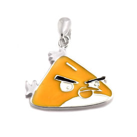 Mesmeric Angry Birds Sterling Silver Pendant-PDMX003