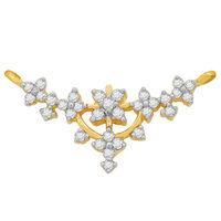 Diamond Mangalsutra - GUTS0068T, si - ijk, 14 kt