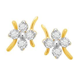 Beauteous Earrings - BAPS187ER, si - ijk, 14 kt