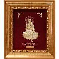 Sai Baba Gold Frame-GF011