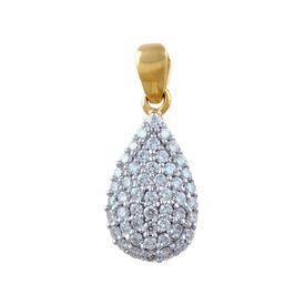 Dazzling Diamond Pendant - BAPS2082P