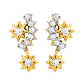 Diamond Earrings - DAPS033ER