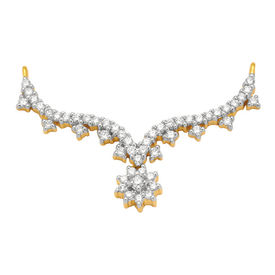 Diamond Mangalsutra - GUTS0036T