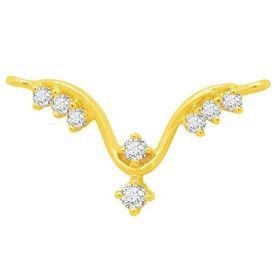 Diamond Mangalsutra - BATS0174T, si - ijk, 14 kt