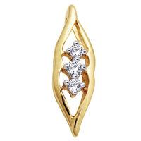 Diamond Pendants - JHP055, si - ijk, 18 kt